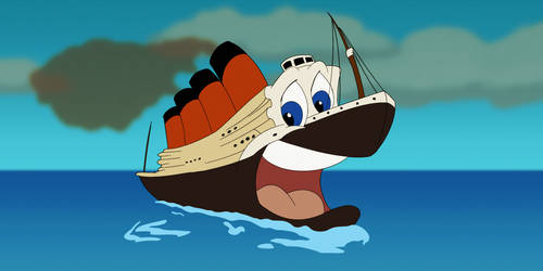 Titey the Titanic Boat
