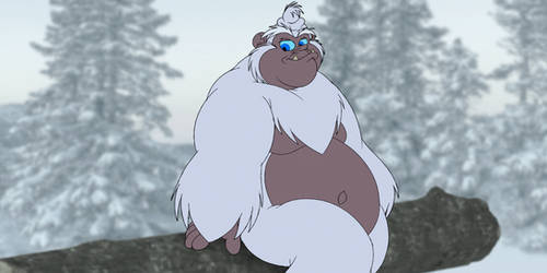 Crumbo the Abominable Snow Monster