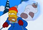Homer's New Phobia - Stupid Sexy Sasquatch
