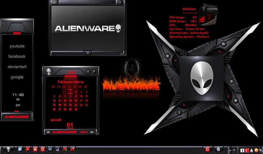 skins alienware darkstar