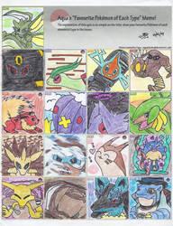 Fav Pokemon Meme