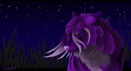 Wlfhrted: Midnight Breeze by Azureith