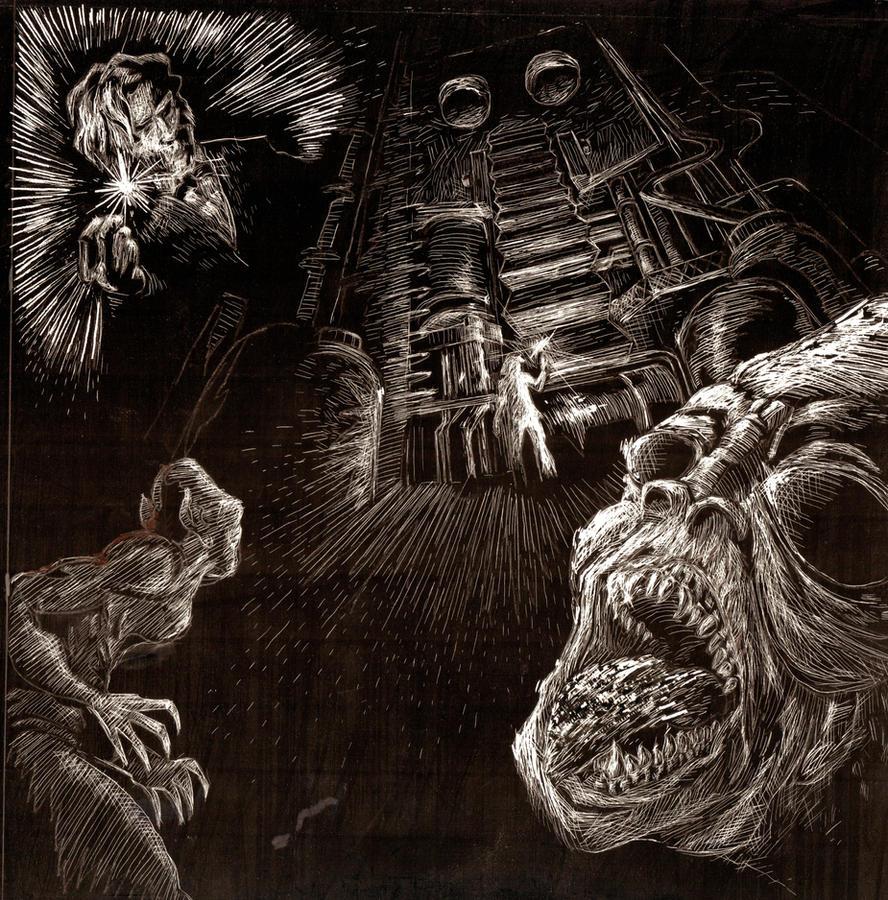The Time Machine- In the lair of the Morlocks by Mattpocalypse
