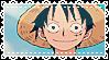 Luffy Stamp by Kobatsu
