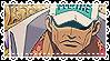 Akainu Stamp by Kobatsu