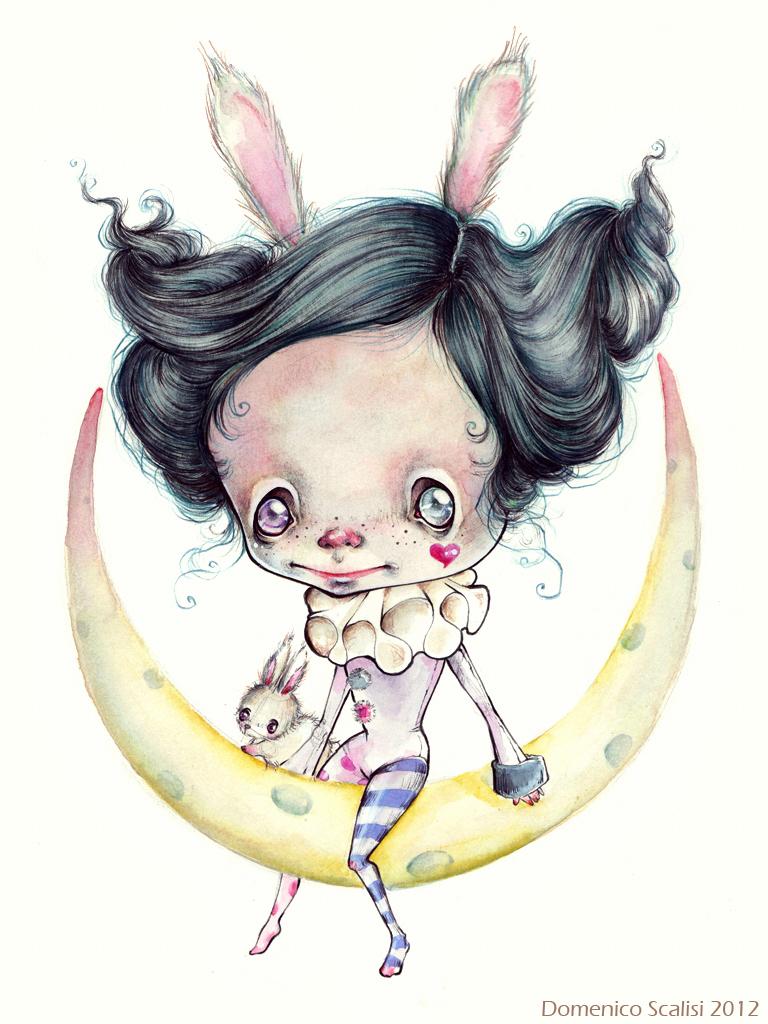 La leggenda del coniglio sulla luna by NobuSama