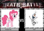 Death Battle Pinkie Pie Vs Olaf