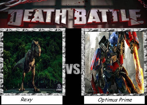 Death Battle Rexy Vs Optimus Prime