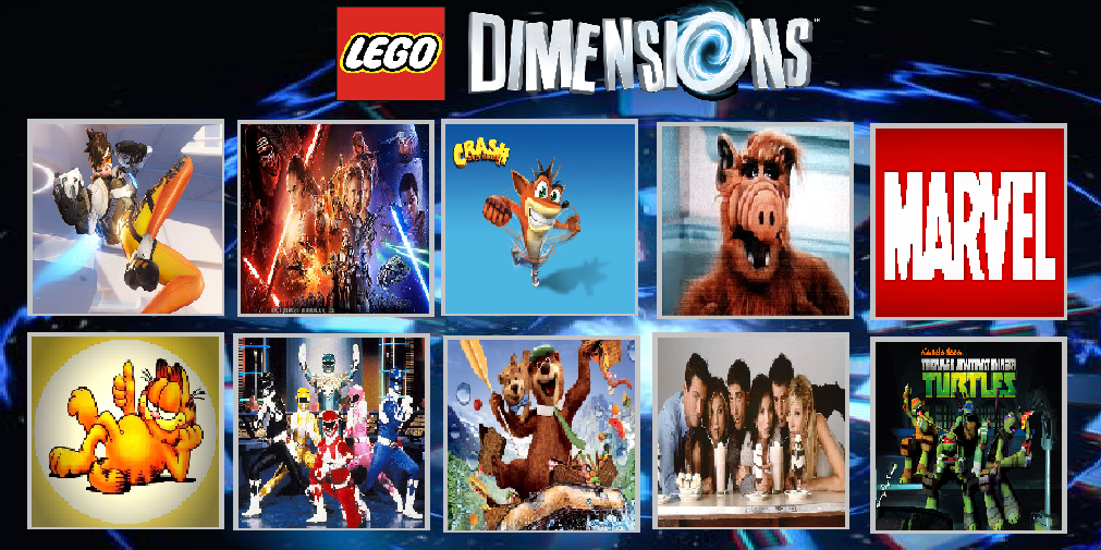 Top 10 Franchise Ideas LEGO Dimensions In Future by masonartcarr on ...