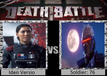 Death Battle Iden Versio Vs Soldier: 76 by masonartcarr