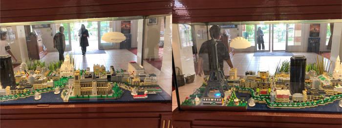 LEGO model in Marriott village France