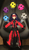 Mystic ladybug custom doll