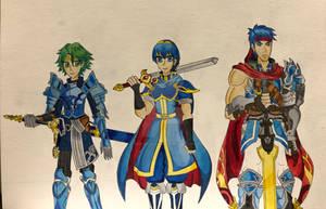 Heroes of fire emblem