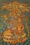 Lakshmi and Vishnu