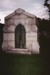 Sinclair family mausoleum, Oak Hill Cemetery by DannySamFanMan