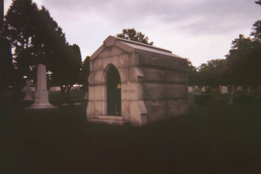 Another view of the Sinclair Mausoleum by DannySamFanMan