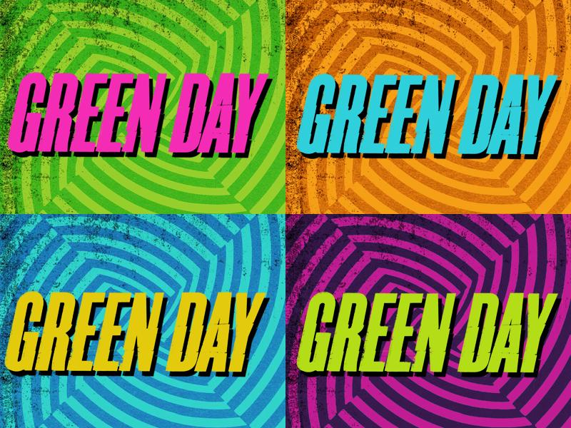 Green Day trilogy booklet wallpaper by 15CrashBandicoot15