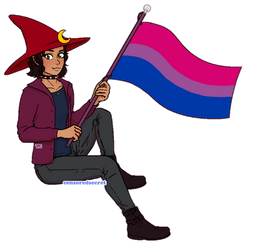 [$] Luda | Pixel Pride Flag Pagedoll