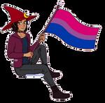 [$] Luda   Pixel Pride Flag Pagedoll