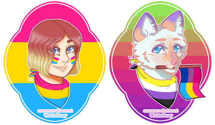 Cecile and Thea | Pride 2020 Headshots Test