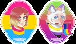 Cecile and Thea   Pride 2020 Headshots Test