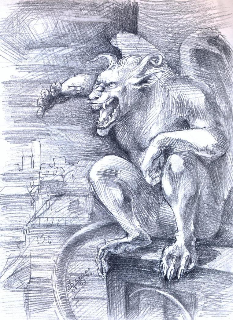 Gargoyle by Shakara-the-Furious