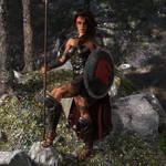 Kassandra after the battle