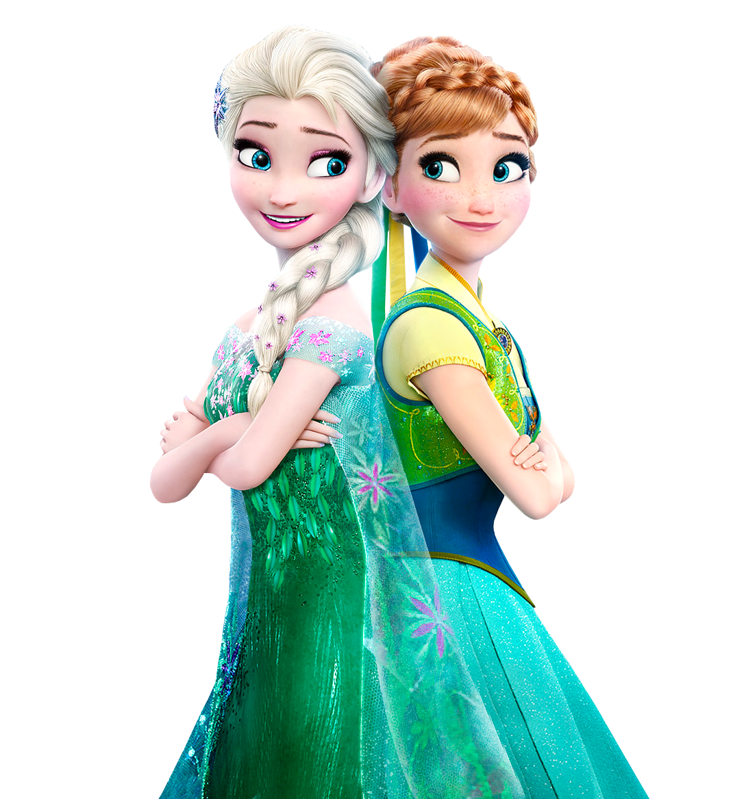 Elsa and Anna Frozen Fever - Vector by Simmeh on DeviantArt