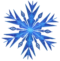 Frozen Snowflake - Png by Simmeh
