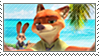 Nick and Judy Selfie - Stamp by Simmeh
