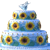 Frozen Fever Cake - Icon by Simmeh