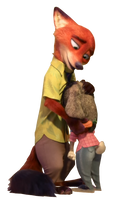 Nick and Judy - Png