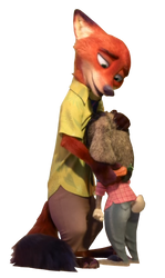 Nick and Judy - Png by Simmeh