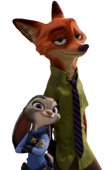 Judy and Nick - Png by Simmeh