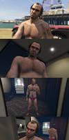 Shirtless Trevor Philips