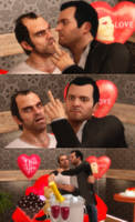 Trevor and Michael Valentine's Day by Simmeh
