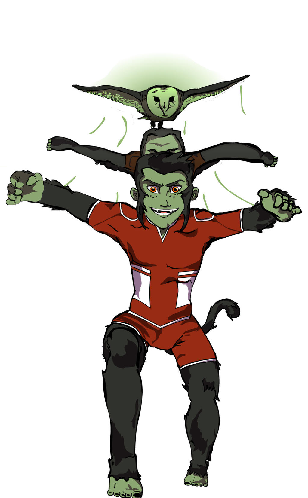 Young Justice Beast Boy Beast boy transformation byYoung Justice Beast Boy Transformations