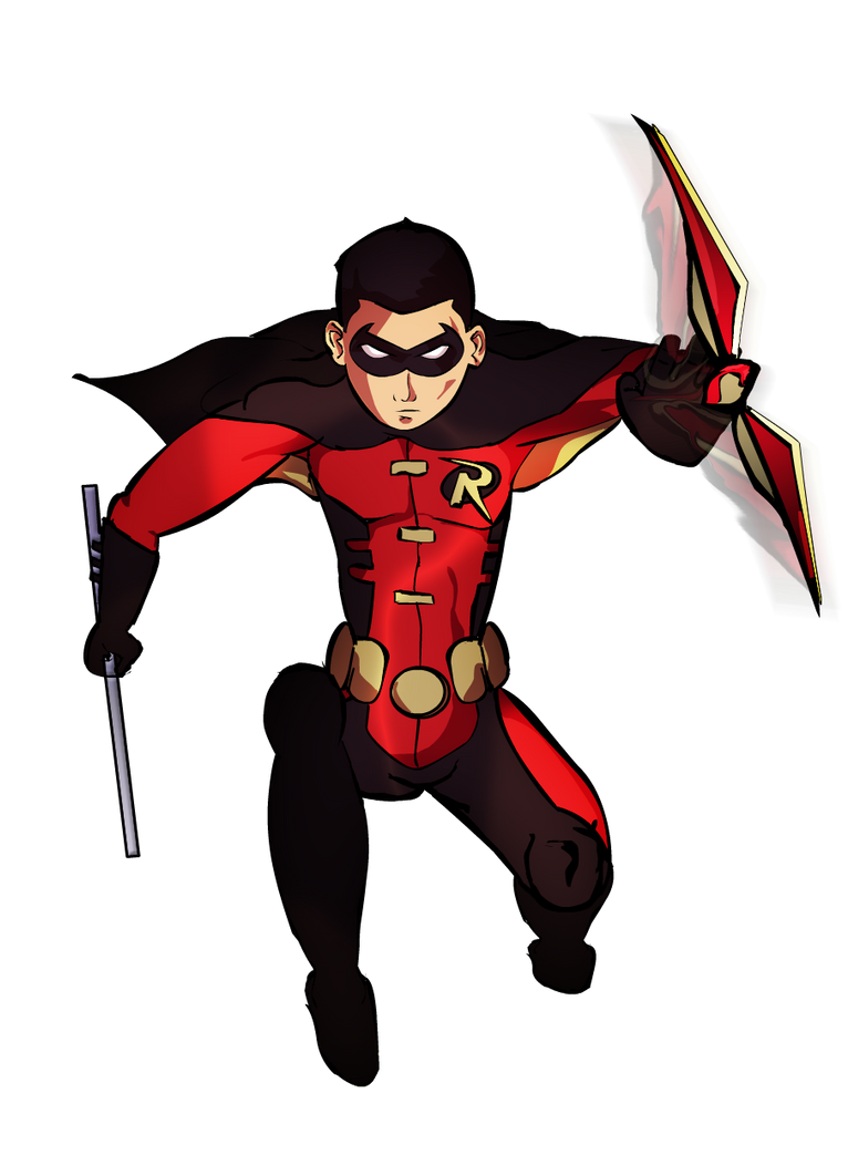 Robin (Young Justice) by jixustudios on DeviantArt