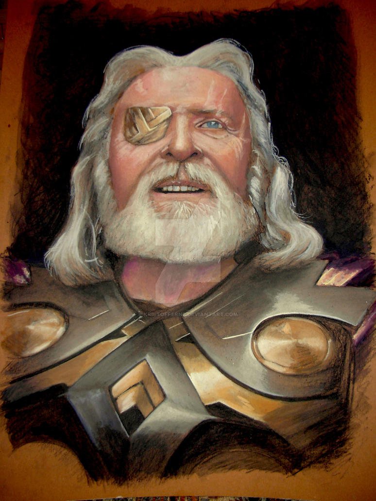 Anthony Hopkins as Odin by KristofferNS on DeviantArt