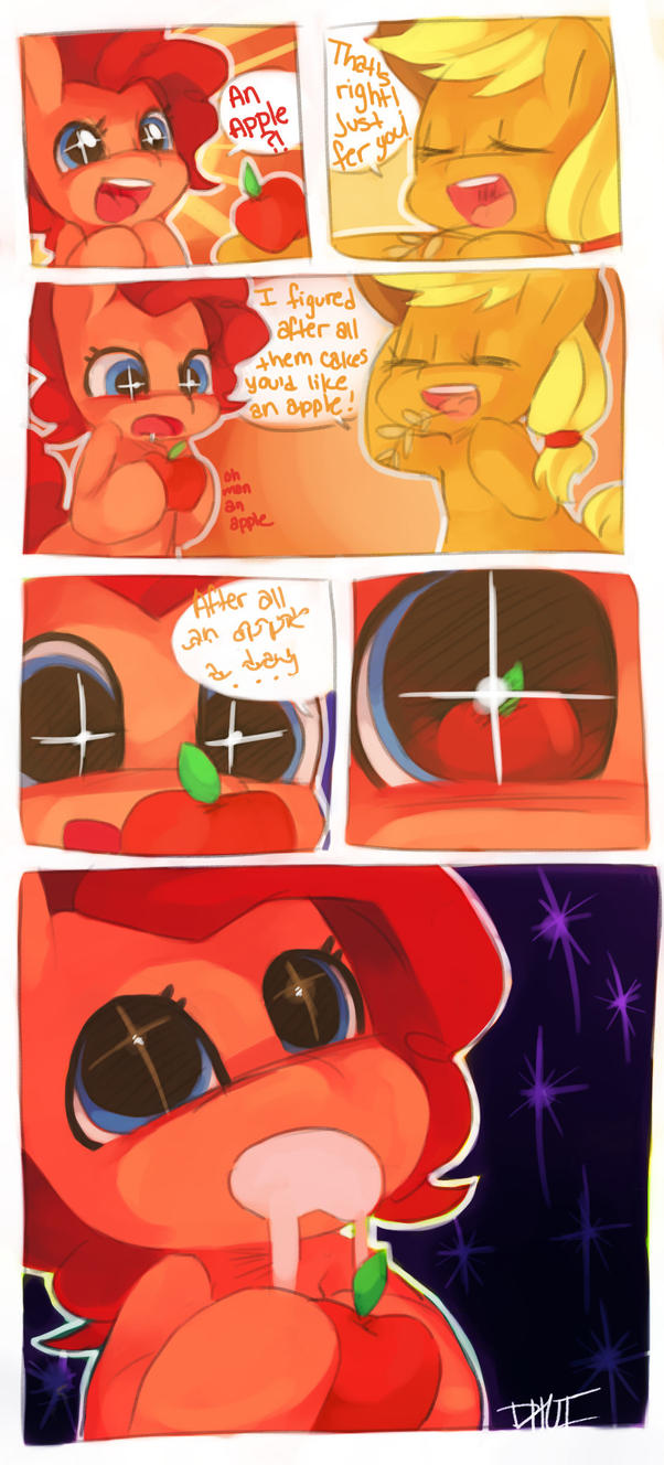 An Apple A Day by Dhui