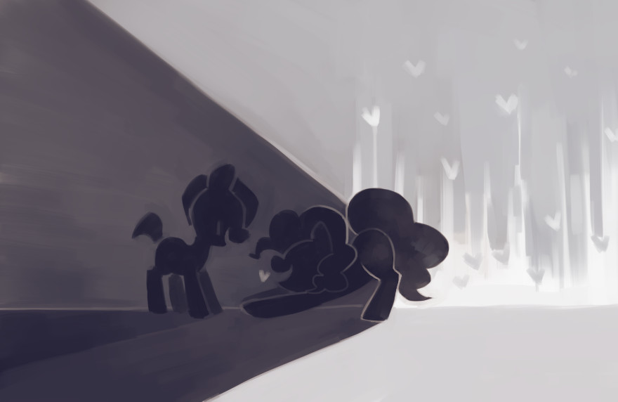 A Title Related to Smiles and Pinkie Pie by Dhui