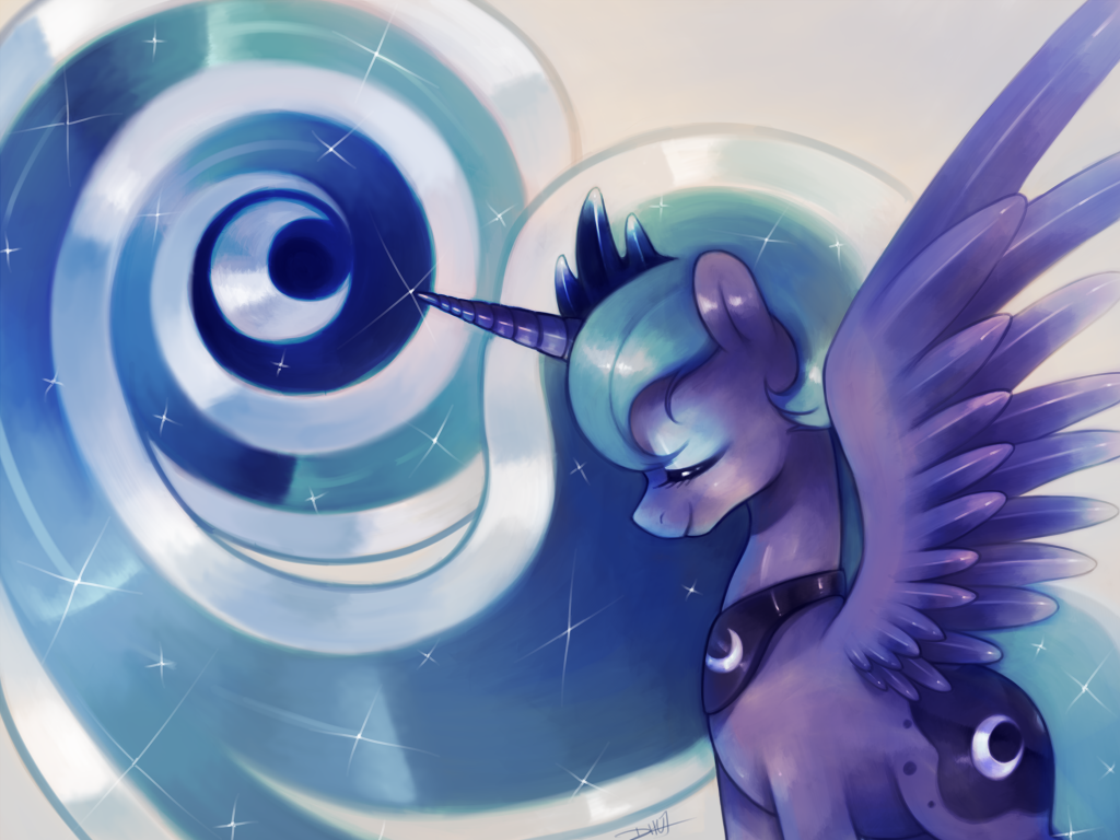 Luna wallpaper by dhui on deviantart - Princess luna screensaver ...