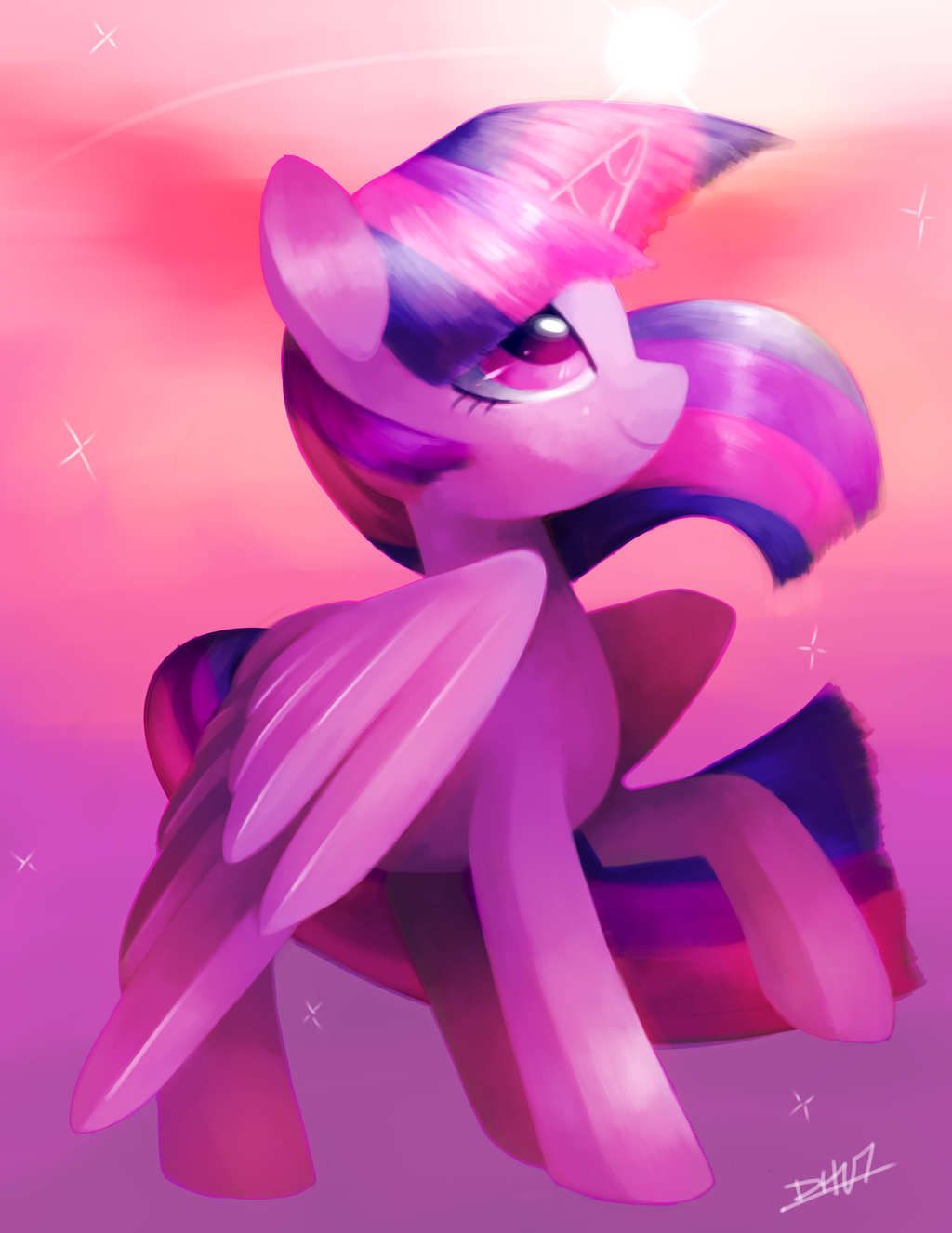 Twilight Sparkle by Dhui