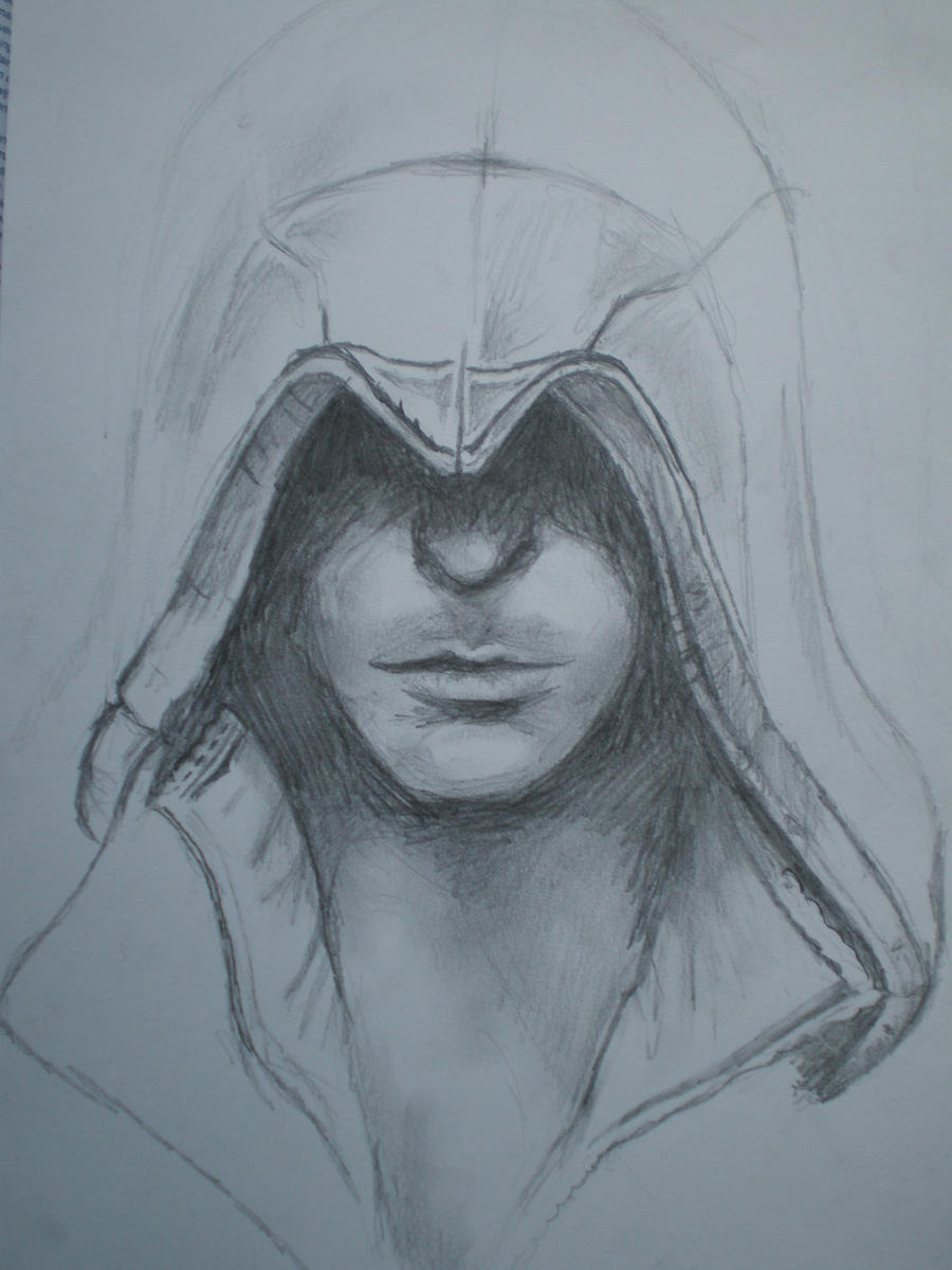 assassins creed drawing by loiranne on deviantart