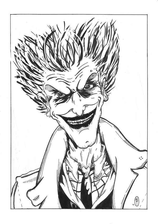 comment dessiner joker