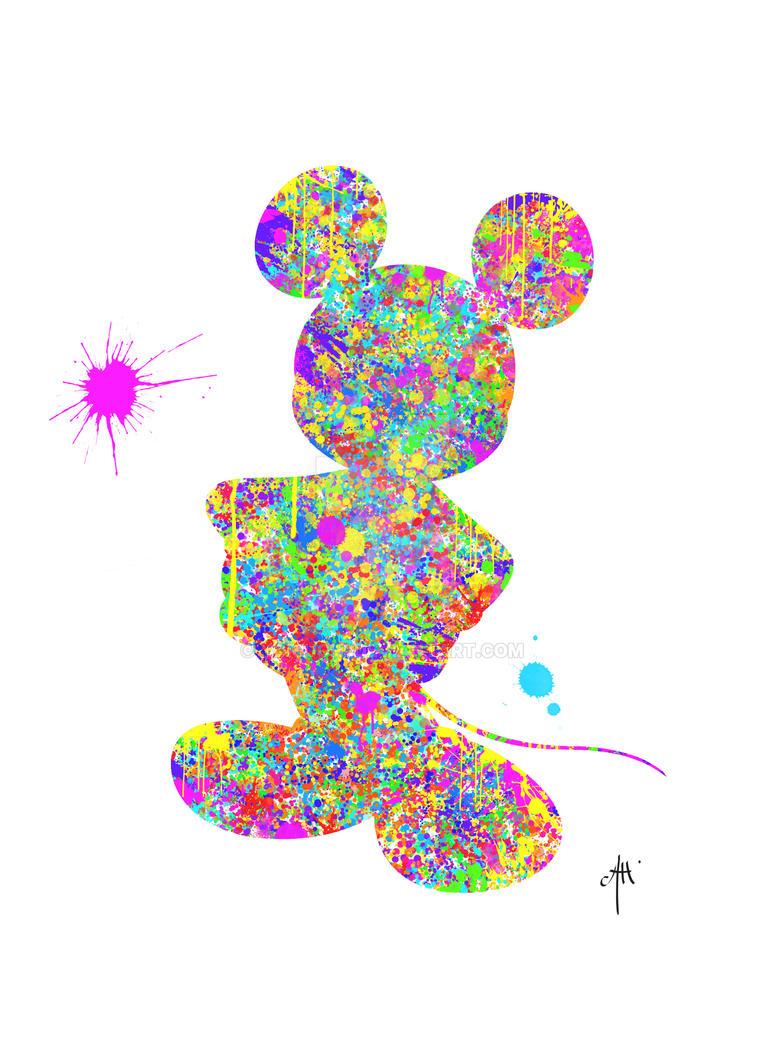 Mickey Abstract ! by Yoriuchi