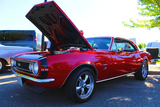 The Red SS Camaro