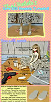Cute BJD Sandals Tutorial by TheUkelele