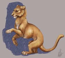 feline agility by kuwaki