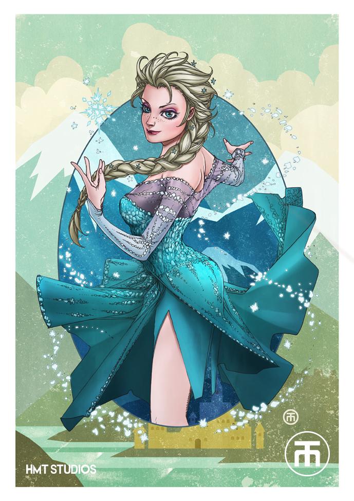 Frozen Elsa by hmtstudios